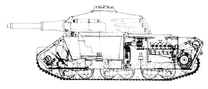 Vk 4502 p design for the typ 180 with the turret mounted toward the front malvernweather Images